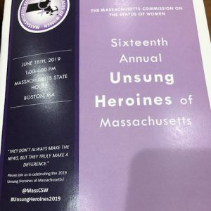 Massachusetts Unsung Heroine Awards