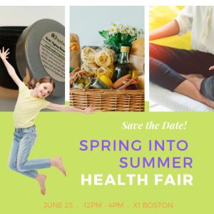 Spring into summer Health Fair-featured