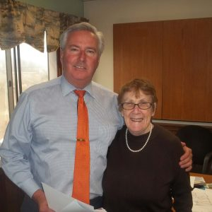 Sheila Wilson Meets with Mass Rep Bruce Ayers