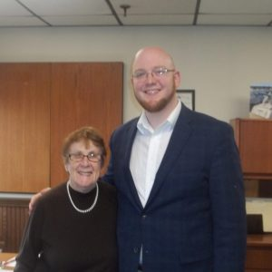 Sheila Wilson Meets with Sean Costello 4/12/19